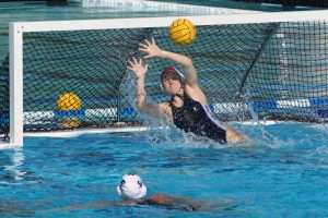 UCI poll found that water polo goalies experienced more concussions than other players, especially during practice sessions. Glenn Feingerts / UCI Athletics