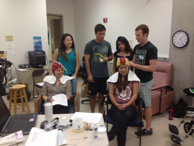 Conducting EEG assessments.